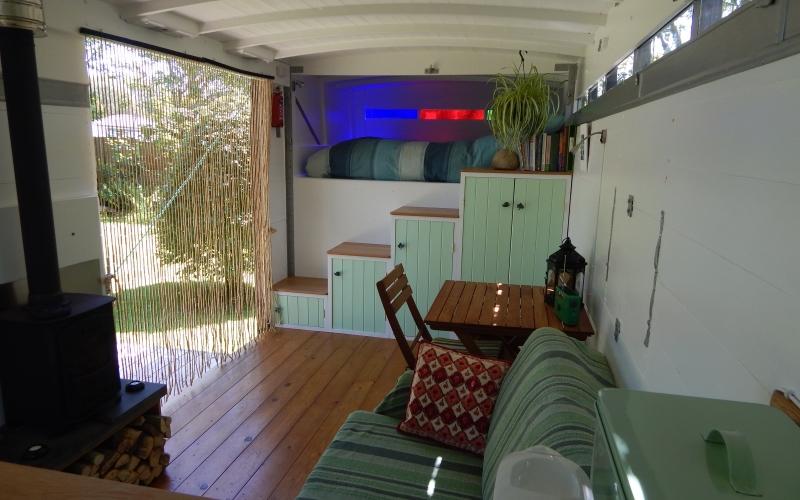 Interior from kitchen