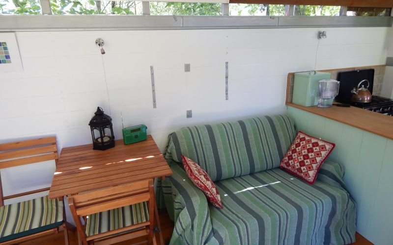 Sleeping area view